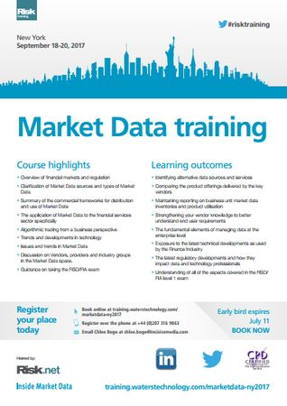 Market Data Training NY 2017