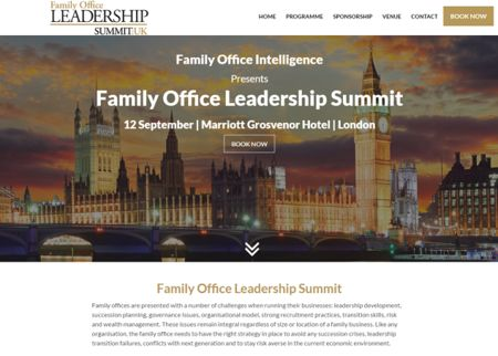 The Family Office Leadership Summit